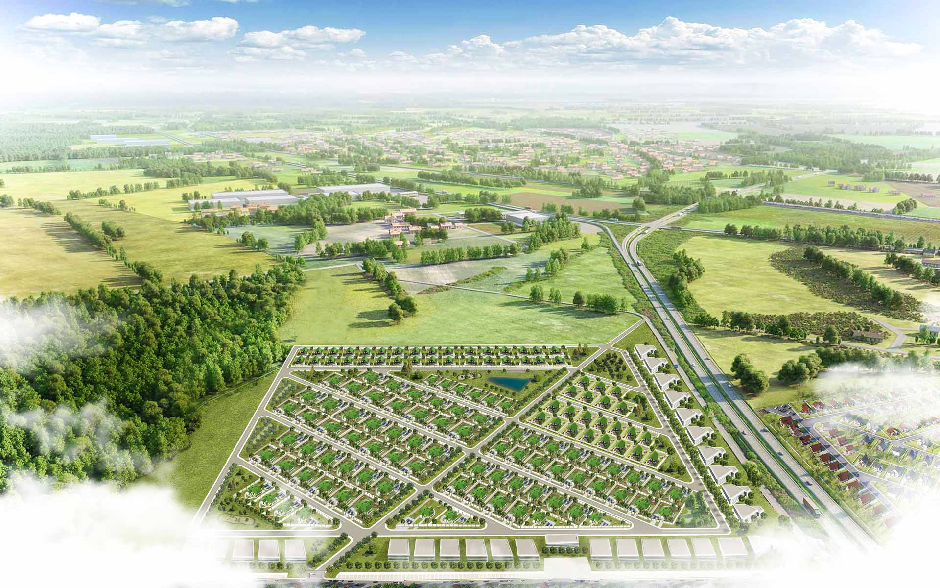 План поселка 1